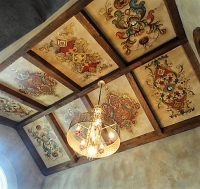 Gorgeous Ceiling Art