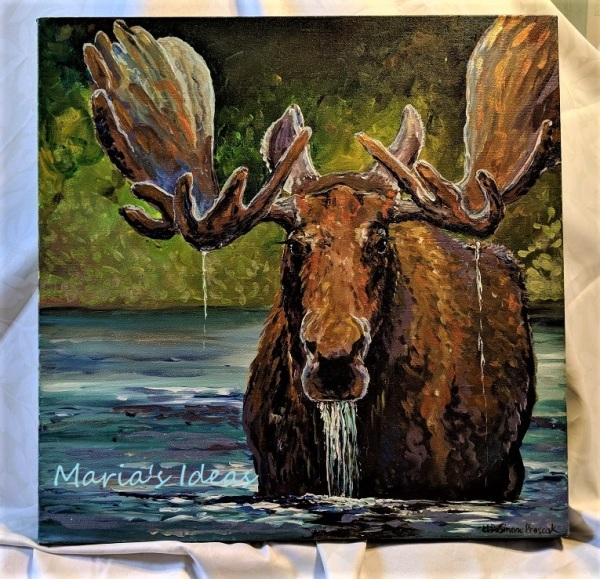 Metallic Moose